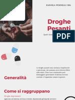 Droghe Pesanti