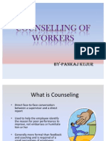 COUNSELING of workers