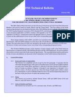 CCFSS Technical Bulletin