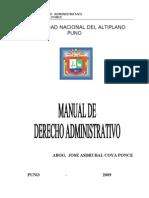 MANUEL DE DERECHO ADMINISTRATIVO