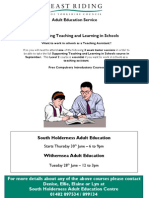 Supporting Teaching and Learning in Schools - June 2011