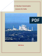 Japan's Nuclear Catastrophe- Lessons for India