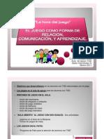 1 El Juego Forma Relacion Comunicacion Aprendizaje