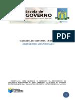 Disturbios da aprendizagem - Escola de Governo de Val Paraíso/GO