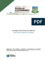 Gestão de cargos e Salários curso EAD Escola de governo de Val Paraíso/GO