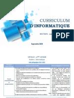 CurriculaSI (Algo+STI) 2021-2022