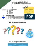 Presentation - GCSE German