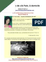 Extension Cils Paris