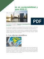 1.7 Tendencias en Sustentabilidad y Empresa Para 2021