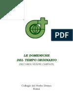 Vespri Domeniche - 2021-10-02