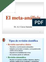 El Metaanalisis