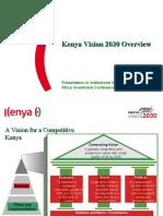 Kenya Vision 2030 Overview