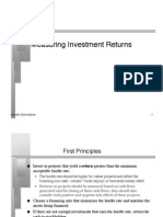Damodaran - Corporate Finance -Measuring Return