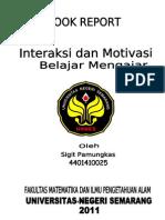 BOOK REPORT (Interaksi Dan Motivasi Belajar Mengajar)