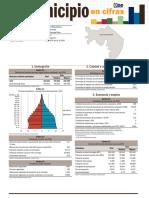 Tu municipio en cifras Santo Domingo Oeste 2016