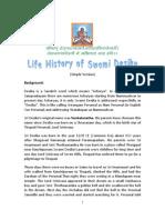 Life History of Swami Desika