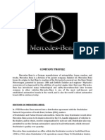 Company Profile Mercedes