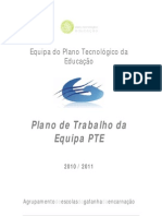 Plano_Equipa PTE_2010-2011
