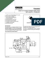 tda2052 amplificador