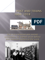 Power Point Can Post Trains 1860-1918