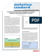 Organic Ambipolar Light Emitting Field Effect Transistor