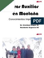 29 - primeros auxilios en montaña