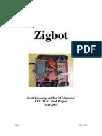 example project - Zigbot - Zigbee Controlled Robot