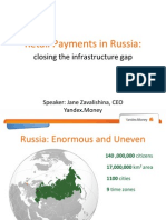 Retail Payments in Russia
