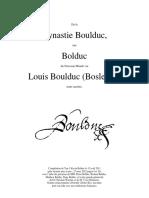 La Dynastie des Boulduc & Bolduc