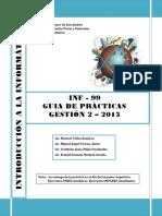 GUIA DE PRACTICAS INF99- 2 2013
