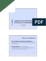 Ciencia Dos Materiais Notas de Aula 03 Estruturas e Propriedades