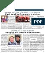 Espoir sans Frontières - Les Infos