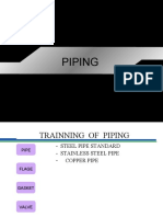 TRAINNING  OF  PIPING