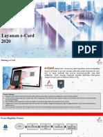 Layanan eCard untuk Provider