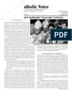 The Catholic Voice ( Newsletter of the Society of Traditional Roman Catholics - November 2010 )