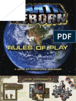 Earth Reborn. Rule book.