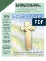 April 17, 2011 Bulletin