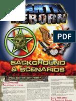 Earth Reborn. ScenarioBook