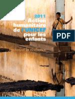 2011 Action humanitaire de l'UNICEF pour les enfants