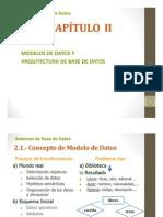 Cap II - Modelos y Arquitecturas