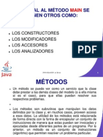 PRESENTACION MÉTODOS-POLIMORFISMO HERENCIA Y ENCAPSULATIEMTO ENERO 31 DE 2011