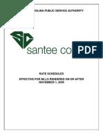 South-Carolina-Pub-Serv-Auth-2009-Rate-Schedules-Effective-November-1,-2009