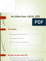 Architecture JAVA J2EE a Partager