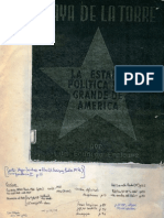 1951. Enriquez - La Estafa Mas Grande de America.
