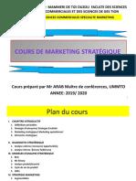 Cours de marketing stratégique diapos