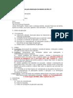 roteiro para  elaboracao de relatorio Wisc III