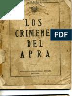 1949. Los crimenes del APRA
