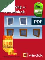 Műanyag ablakok Windok