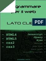 HTML5 CSS3 JavaScript JQuery Ajax Progra Ottimizzato