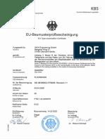 flowsic600de type approval